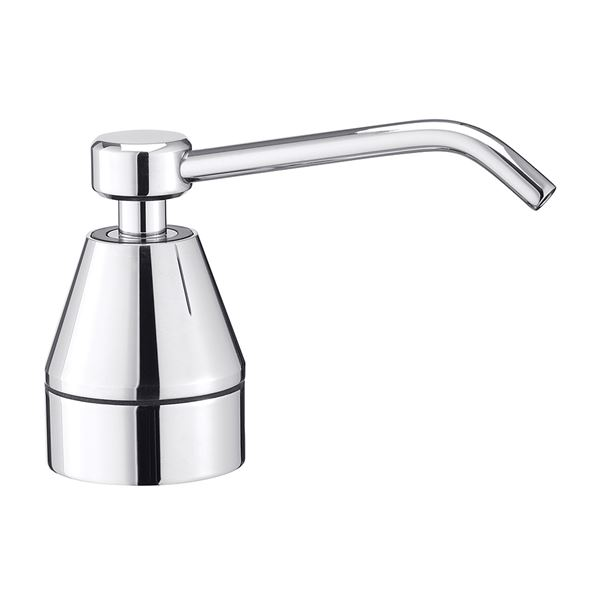 Top Mounted Curved Soap Dispenser